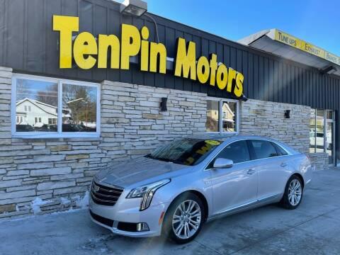 2018 Cadillac XTS for sale at TenPin Motors LLC in Fort Atkinson WI