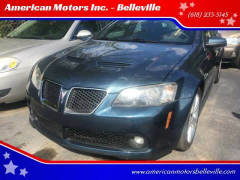 2009 Pontiac G8 for sale at American Motors Inc. - Belleville in Belleville IL