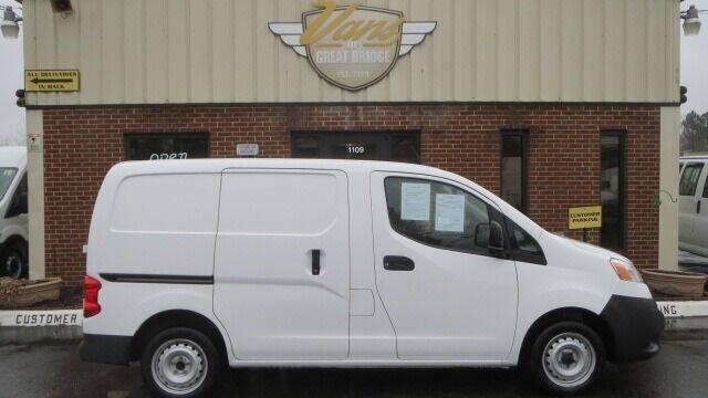 2016 Nissan NV200 for sale at Vans Of Great Bridge in Chesapeake VA