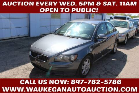 2007 Volvo S40 for sale at Waukegan Auto Auction in Waukegan IL