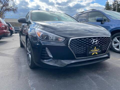 2018 Hyundai Elantra GT for sale at Auto Exchange in The Plains OH