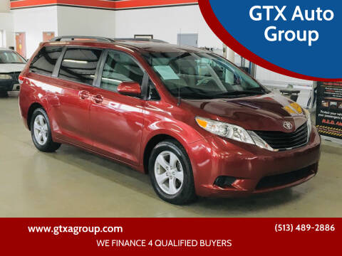 2011 Toyota Sienna for sale at GTX Auto Group in West Chester OH