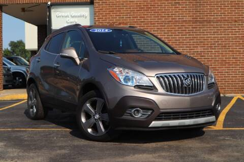 2014 Buick Encore for sale at Hobart Auto Sales in Hobart IN