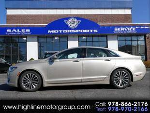 2017 Lincoln MKZ for sale at Highline Group Motorsports in Lowell MA
