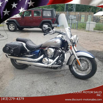 2008 Kawasaki VN900 for sale at Discount Motor Sales inc. in Ludlow MA