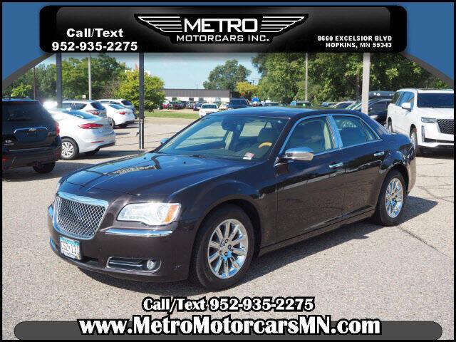 2012 Chrysler 300 for sale at Metro Motorcars Inc in Hopkins MN