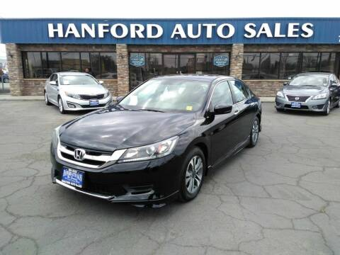 2013 Honda Accord for sale at Hanford Auto Sales in Hanford CA
