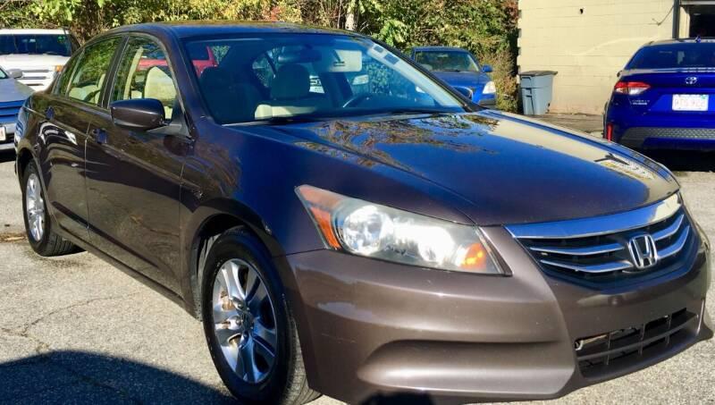 2011 Honda Accord for sale at Millennium Motors Sales in Revere MA