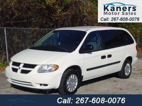 2007 Dodge Grand Caravan for sale at Kaners Motor Sales in Huntingdon Valley PA