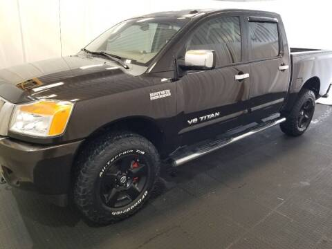 2013 Nissan Titan for sale at Rick's R & R Wholesale, LLC in Lancaster OH