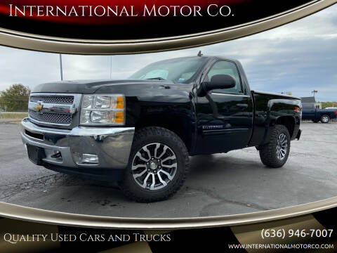 2013 Chevrolet Silverado 1500 for sale at International Motor Co. in St. Charles MO