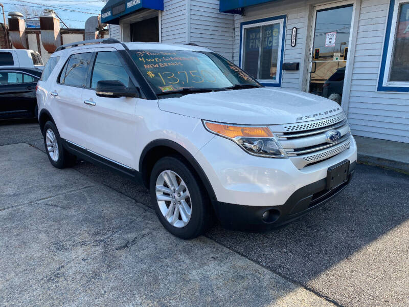 2012 Ford Explorer for sale at The Car Lot Inc in Cranston RI