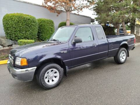 2002 Ford Ranger for sale at SS MOTORS LLC in Edmonds WA