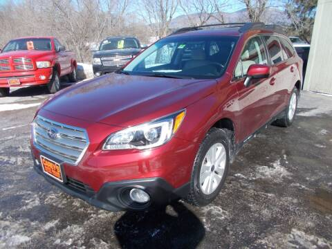2017 Subaru Outback for sale at Careys Auto Sales in Rutland VT