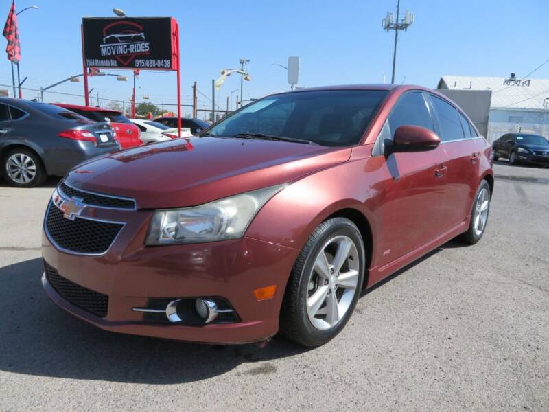 2013 Chevrolet Cruze for sale at Moving Rides in El Paso TX