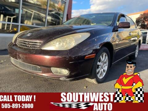 2003 Lexus ES 300 for sale at SOUTHWEST AUTO in Albuquerque NM
