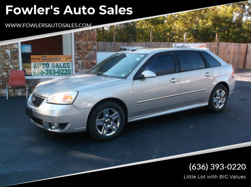 2007 Chevrolet Malibu Maxx for sale at Fowler's Auto Sales in Pacific MO