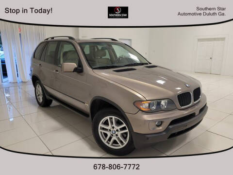 2004 BMW X5 for sale at Southern Star Automotive, Inc. in Duluth GA