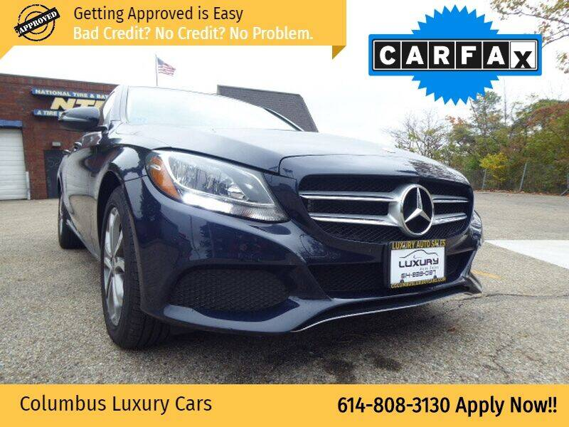 2017 Mercedes-Benz C-Class for sale at Columbus Luxury Cars in Columbus OH