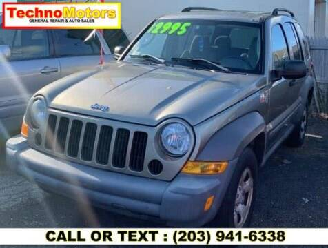 2006 Jeep Liberty for sale at Techno Motors in Danbury CT