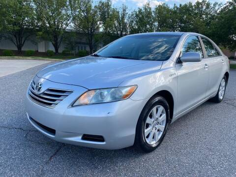 2007 Toyota Camry Hybrid for sale at Triple A's Motors in Greensboro NC