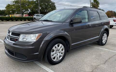 2017 Dodge Journey for sale at T.S. IMPORTS INC in Houston TX