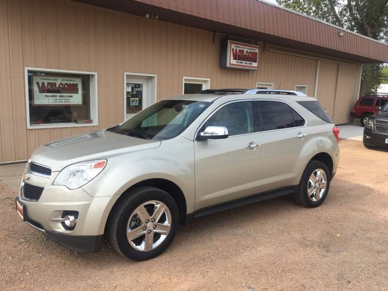 2014 Chevrolet Equinox for sale at Palmer Welcome Auto in New Prague MN