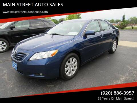 2009 Toyota Camry for sale at MAIN STREET AUTO SALES in Neenah WI