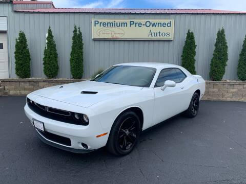 2019 Dodge Challenger for sale at PREMIUM PRE-OWNED AUTOS in East Peoria IL