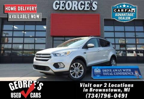 2018 Ford Escape for sale at George's Used Cars - Pennsylvania & Allen in Brownstown MI
