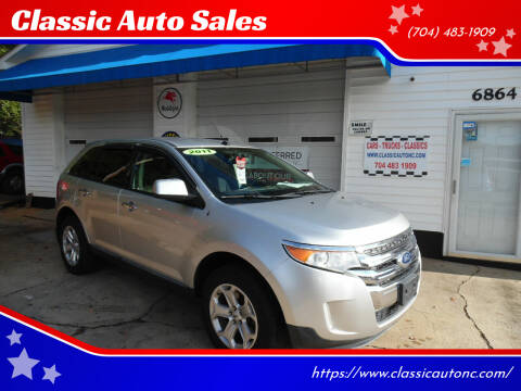 2011 Ford Edge for sale at Classic Auto Sales in Maiden NC