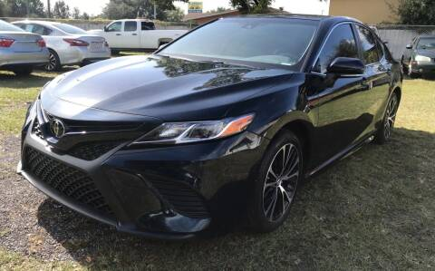 2018 Toyota Camry for sale at MISSION AUTOMOTIVE ENTERPRISES in Plant City FL