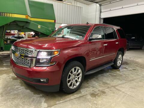 2015 Chevrolet Tahoe for sale at CMC AUTOMOTIVE in Roann IN