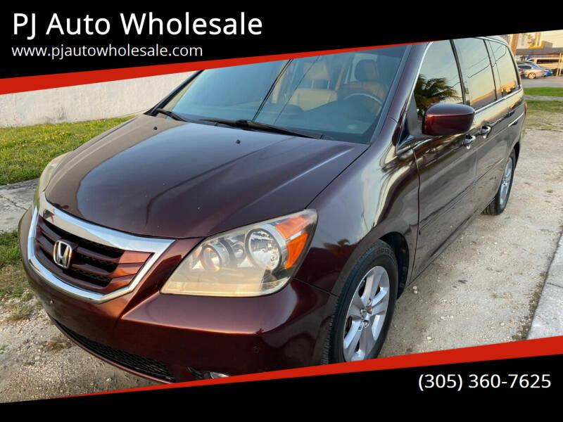 2010 Honda Odyssey for sale at PJ AUTO WHOLESALE in Miami FL