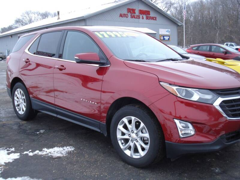 2018 Chevrolet Equinox for sale at Fox River Auto Sales in Princeton WI