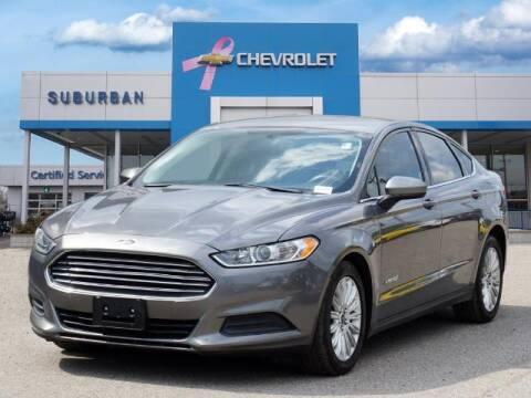 2014 Ford Fusion Hybrid for sale at Suburban Chevrolet of Ann Arbor in Ann Arbor MI