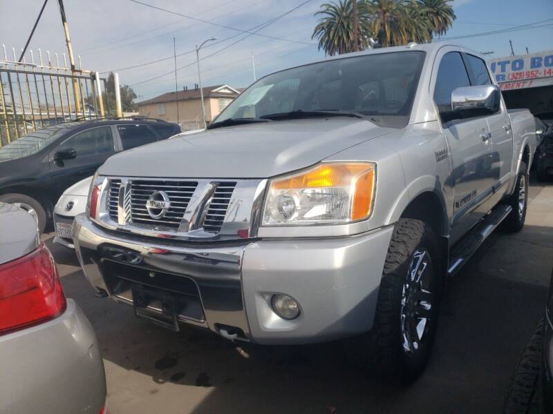2011 Nissan Titan for sale at Ericks Used Cars in Los Angeles CA