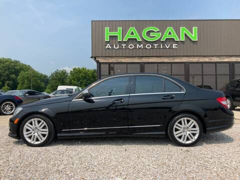 2008 Mercedes-Benz C-Class for sale at Hagan Automotive in Chatham IL