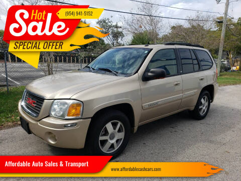 2005 GMC Envoy for sale at Affordable Auto Sales & Transport in Pompano Beach FL