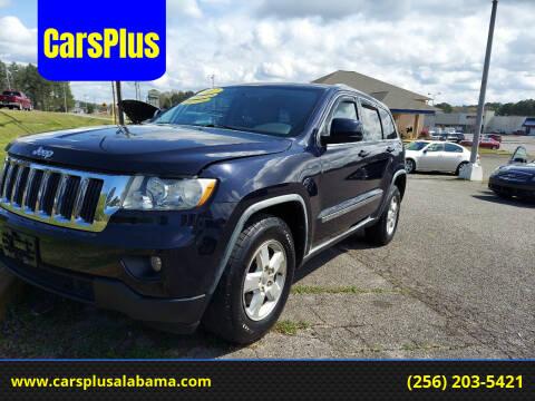 2011 Jeep Grand Cherokee for sale at CarsPlus in Scottsboro AL