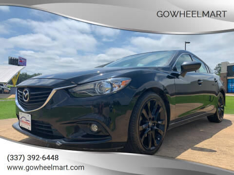 2015 Mazda MAZDA6 for sale at GOWHEELMART in Leesville LA