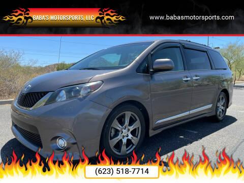 2013 Toyota Sienna for sale at Baba's Motorsports, LLC in Phoenix AZ