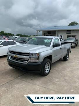 2017 Chevrolet Silverado 1500 for sale at GRG Auto Plex in Houston TX