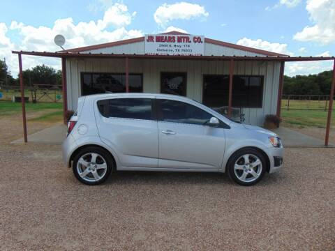 2013 Chevrolet Sonic for sale at Jacky Mears Motor Co in Cleburne TX
