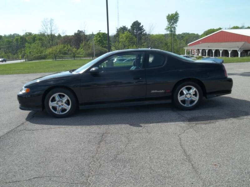 2004 Chevrolet Monte Carlo for sale at Rt. 44 Auto Sales in Chardon OH