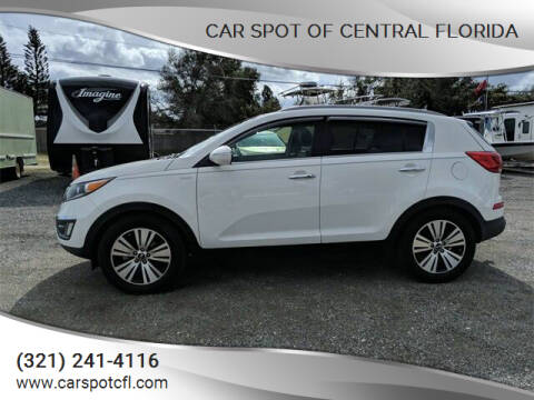 2016 Kia Sportage for sale at Car Spot Of Central Florida in Melbourne FL