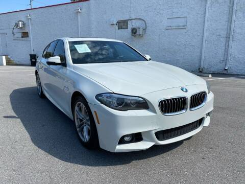 2014 BMW 5 Series for sale at LUXURY AUTO MALL in Tampa FL