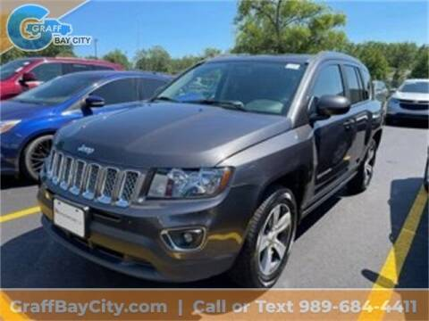 2016 Jeep Compass for sale at GRAFF CHEVROLET BAY CITY in Bay City MI