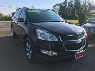 2009 Chevrolet Traverse for sale at FUSION AUTO SALES in Spencerport NY