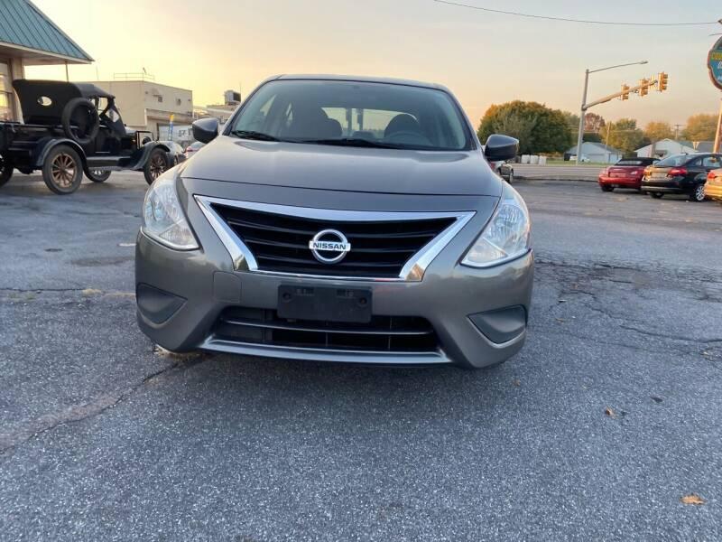 2016 Nissan Versa 1.6 S 4dr Sedan 5M - Fredericksburg PA